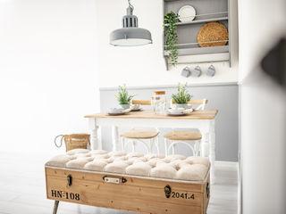 Pasja Do Wnętrz Scandinavian style dining room