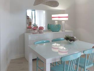 Casa de Férias - T1 Espaços Únicos - EU InteriorDecor Sala de jantarCadeiras e bancos