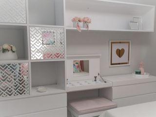 Teen Room Espaços Únicos - EU InteriorDecor Quartos de adolescente