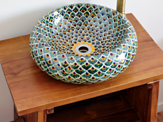 Mexambiente e.K. BathroomSinks Ceramic Green