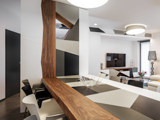 CASA MWF CORFONE + PARTNERS studios for urban architecture Sala da pranzo moderna