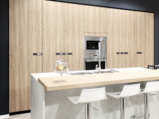 CASA MPH30 CORFONE + PARTNERS studios for urban architecture Cucina moderna
