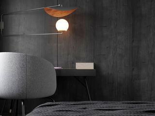 Ale design Grzegorz Grzywacz Small bedroom Black