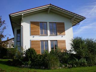Einfamilienhaus in Chieming/Chiemsee Architekt Namberger Einfamilienhaus
