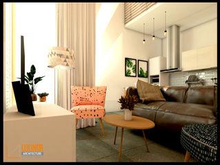 CV Leilinor Architect Modern living room Beige