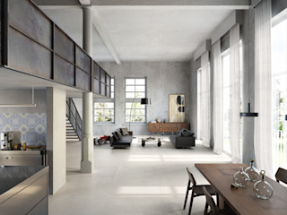 Spadon Agenturen Dormitorios de estilo moderno Cerámico Gris