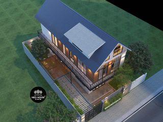 Mẫu biệt thự 2 tầng hiện đại độc đáo tại Tam Kỳ, Quảng Nam NEOHouse