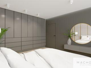 Machowska Studio Projektowe Modern walls & floors Silver/Gold Beige