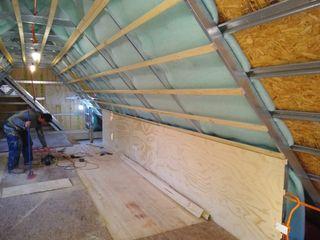 Habilitación y remodelación de mansarda en Las Condes Constructora Crowdproject