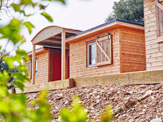 Outposts Somerset - Open Launch Day Building With Frames Wooden houses Wood