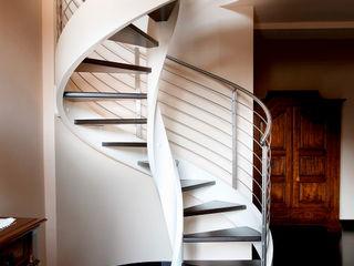 Scale a chiocciola in legno Rizzi Scale Ingresso, Corridoio & ScaleScale Legno