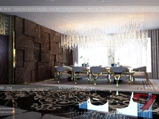 7WD Design Studio Salas de jantar modernas Efeito de madeira