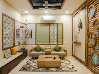 Cutting Edge Design Studio Scandinavian style living room