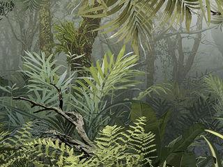 """Dschungel-Tapete """"CedarBay"""" Gaedke Tapeten Flur, Diele & TreppenhausAccessoires und Dekoration Mehrfarbig"""