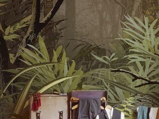 """Dschungel-Tapete """"CedarBay"""" Gaedke Tapeten AnkleidezimmerAccessoires und Dekoration Mehrfarbig"""