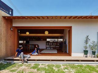 CO2WORKS Asian style windows & doors Wood White