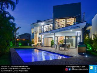Casa Vista Lagos Excelencia en Diseño Casas unifamiliares Blanco