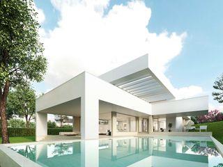 Casa unifamiliar de obra nueva Otto Medem Arquitecto vanguardista en Madrid Casas unifamilares
