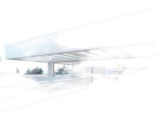 Casa unifamiliar de obra nueva Otto Medem Arquitecto vanguardista en Madrid Casas de estilo moderno