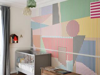 Appartement familial - Paris 10 / 100 m² A comme Archi Chambre bébé Multicolore