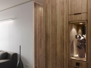 青禾 形構設計 Morpho-Design 現代風玄關、走廊與階梯