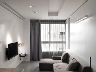 青禾 形構設計 Morpho-Design 现代客厅設計點子、靈感 & 圖片