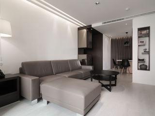 合雄涵悅 形構設計 Morpho-Design 现代客厅設計點子、靈感 & 圖片