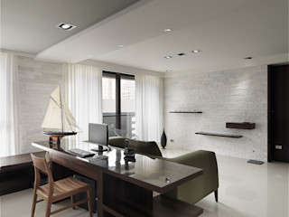 形構設計 Morpho-Design Modern style study/office