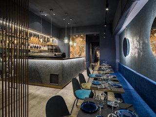 Kyo - sushi & more MM Interni Spazi commerciali moderni