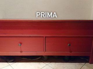Come cambiare colore ad una cassapanca Ikea ! Mobili a Colori Giardino d'inverno eclettico Legno Grigio