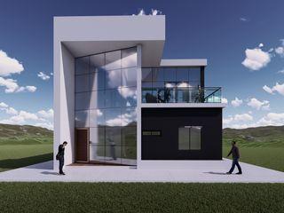 Arq. Bruno Agüero Landhaus Beton