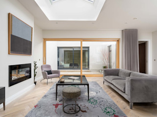 Luxury Contemporary Development Project Marvin Windows and Doors UK Windows & doors Doors Aluminium/Seng Wood effect