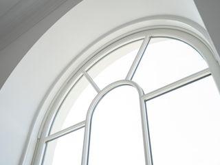 Aluminium Clad Wood Sash Window Project In Poundbury Marvin Windows and Doors UK Jendela kayu Kayu White