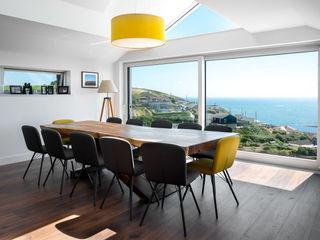 Coastal Sliding Patio Door Extension Project Marvin Windows and Doors UK pintu geser Aluminium/Seng White