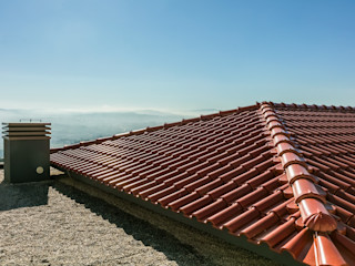 BMI GROUP Hipped roof Ceramic Red