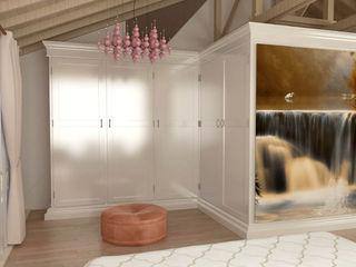 Kalya İç Mimarlık \ Kalya Interıor Desıgn Closets clássicos Madeira Branco