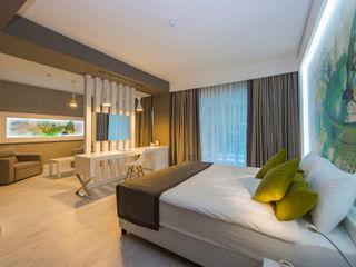 Kalya İç Mimarlık \ Kalya Interıor Desıgn Hotéis modernos Madeira Verde