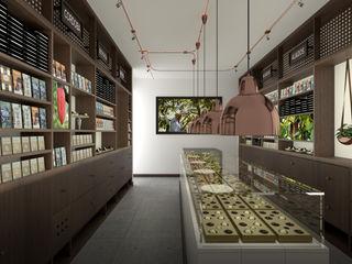 Gamma Espaces commerciaux minimalistes