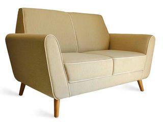 viku 客廳沙發與扶手椅 布織品 Beige