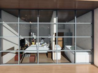 Arq. Bruno Agüero Moderne Schlafzimmer