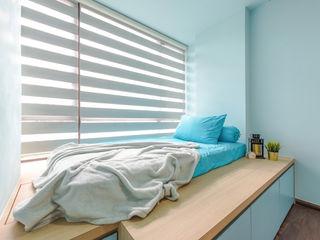 DAP Atelier Habitaciones pequeñas Contrachapado Azul