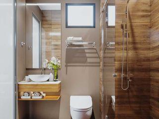 Mẫu thiết kế nội thất nhà phố hiện đại cao cấp 2019 NEOHouse BathroomToilets