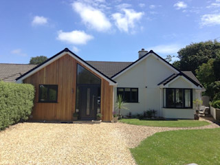Fisher Construction - Supply of Cedar Cladding Building With Frames Wooden houses Wood