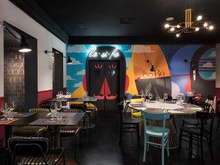 Studio GAMP! Phòng ăn phong cách hiện đại
