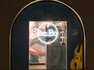Studio GAMP! Hành lang, sảnh & cầu thang phong cách hiện đại