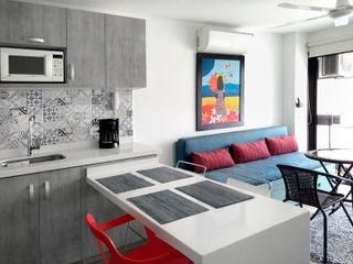 Remodelar Proyectos Integrales Cocinas pequeñas Cuarzo Blanco