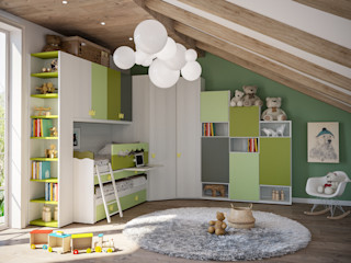 Mondo Camerette Nursery/kid's roomBeds & cribs