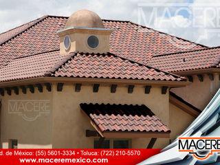 MACERE México Hipped roof Ceramic Red
