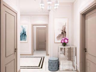 Дизайн студия 'Хороший интерьер' Couloir, entrée, escaliers classiques
