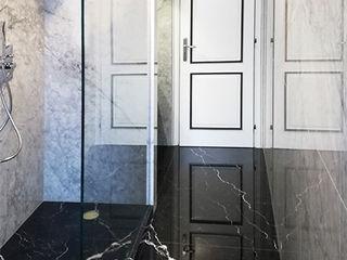Canalmarmi e Graniti snc Classic style bathroom Marble